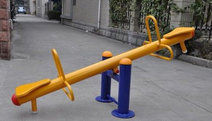 Outdoor Playground Seesaw For Todder