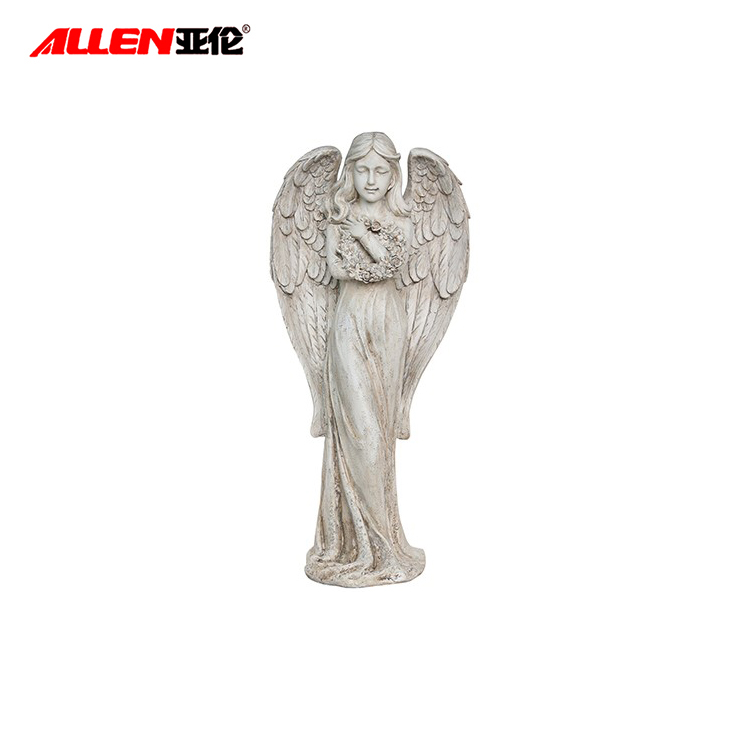 Utomhus Garden Statue Resin Angel