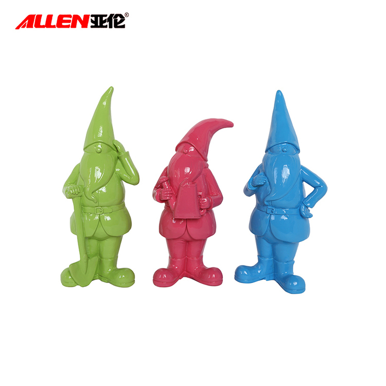 Resin Garden Gnome Figurines dekoration