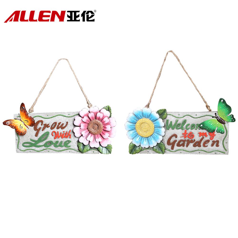 China decoração de jardim de resina