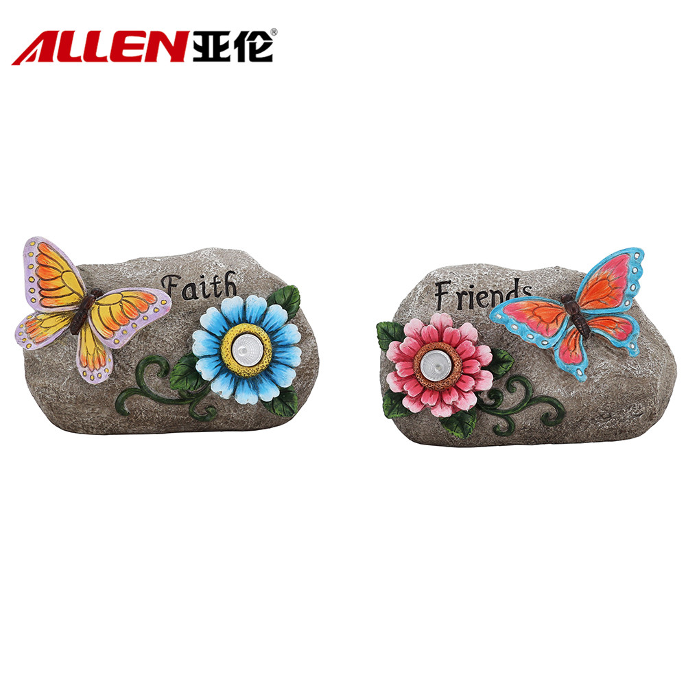 Polyresin Stepping Stone For Garden Decoration