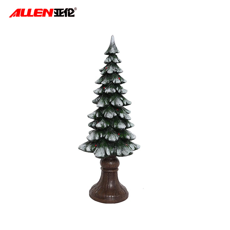 Resin Artificial Christmas Trees For Christmas Decoration