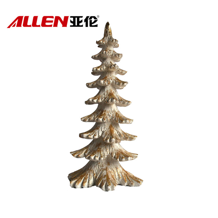 China resin christmas tree
