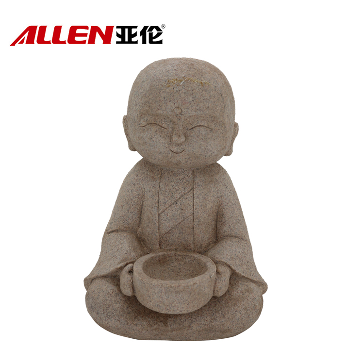 Outdoor religiosi Decoration Monk Figurine