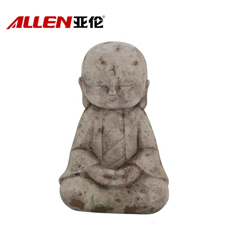 MGO Religious Craft Garden Decoration Little Monk Statue