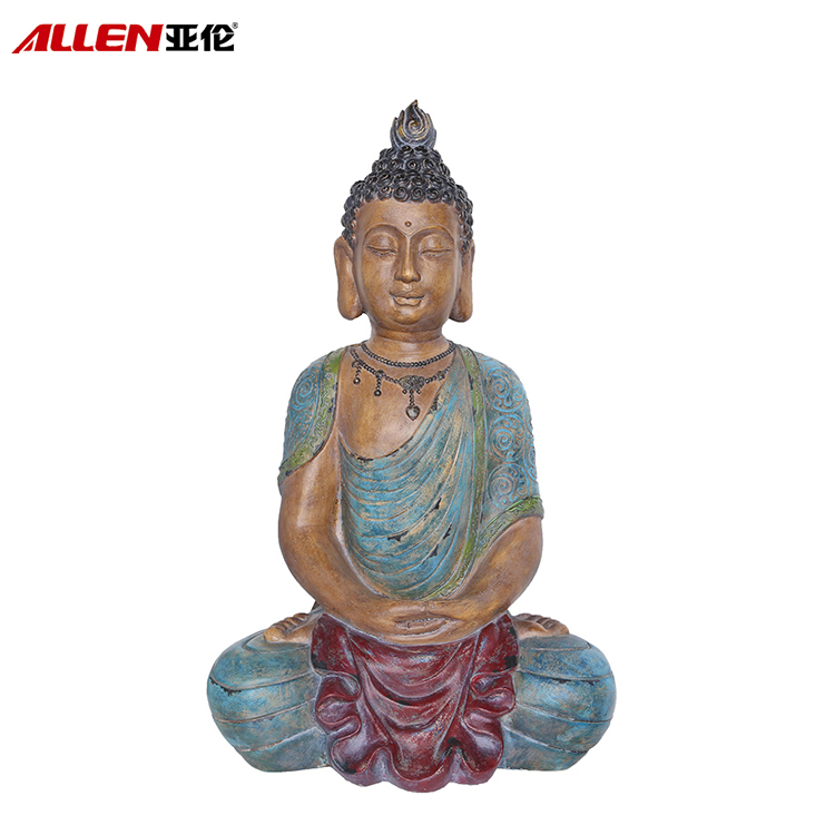 Religious Home Decor Polyresin Large Buddha Statue