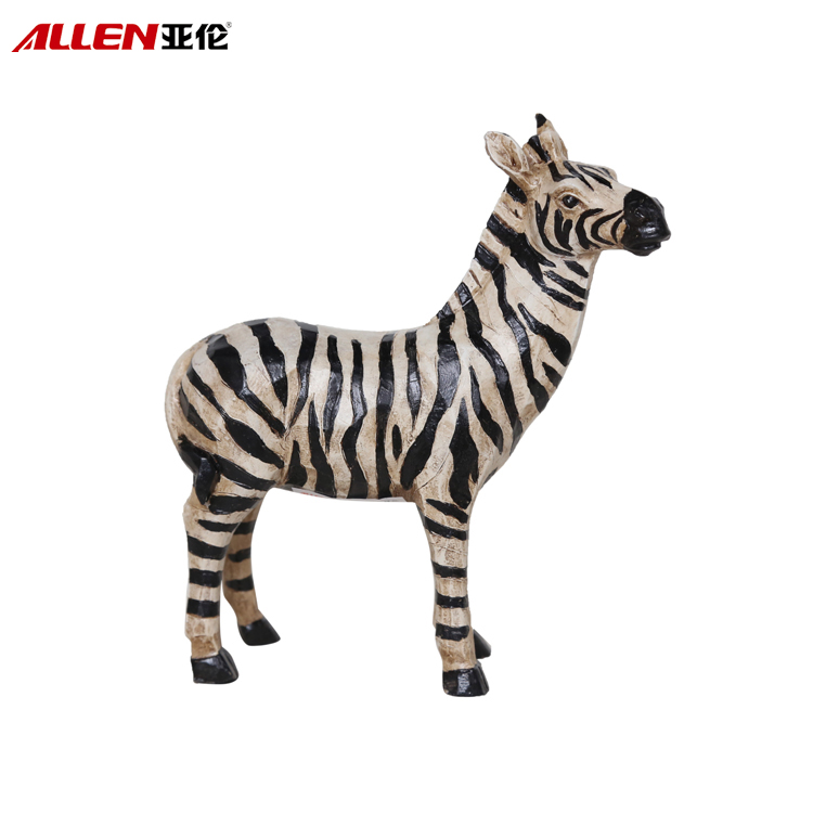 Creative Africa Design Resin Zebra Figurine For Home Decor