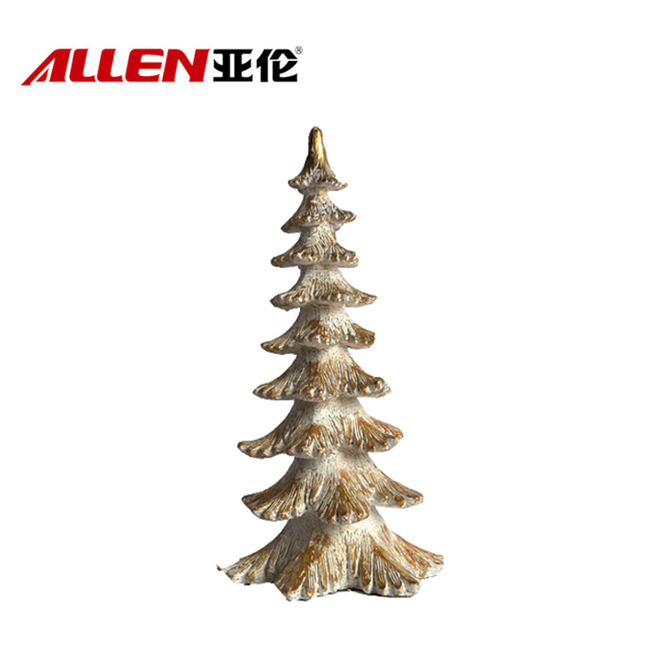 15inch Height Decoration Resin Christmas Tree