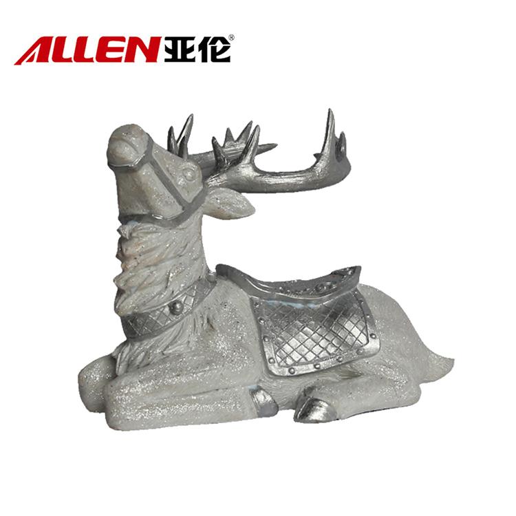 China ao ar livre grande resina renas