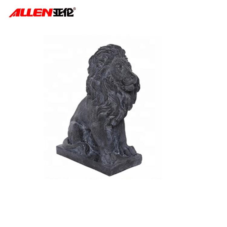 Смола Lion сад Статуя для украшения