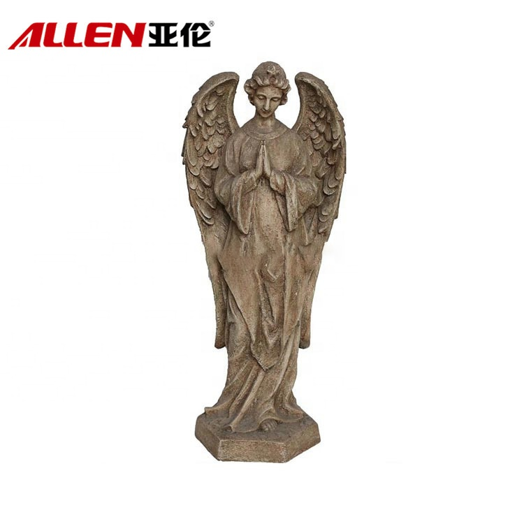 Bidden Life Size Resin Angel tuinbeeld