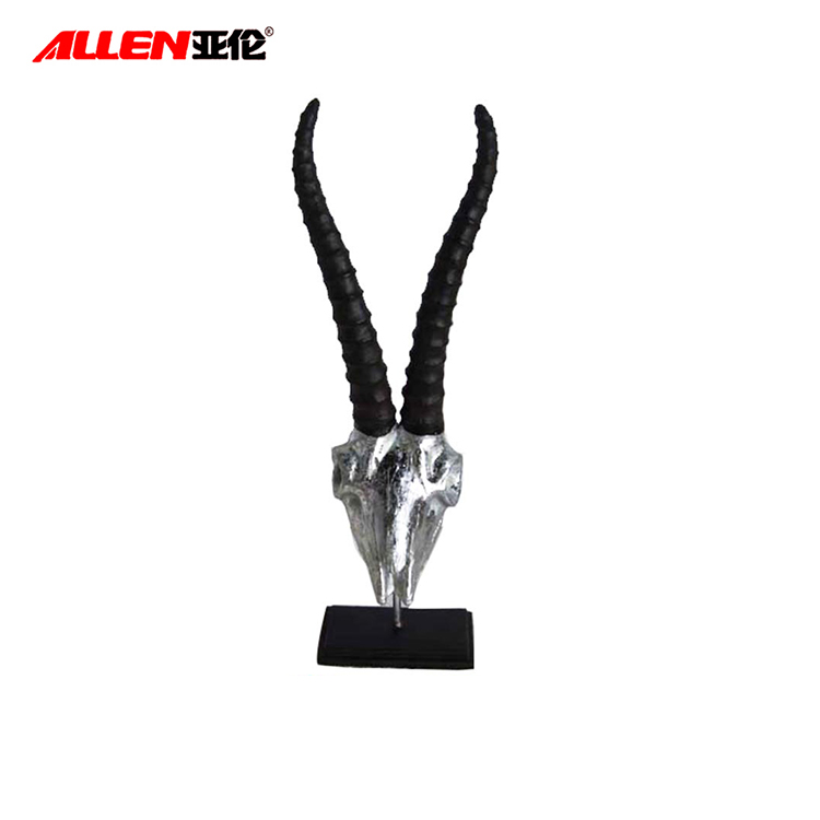 Resin Goat Head Statue For Home Decoration