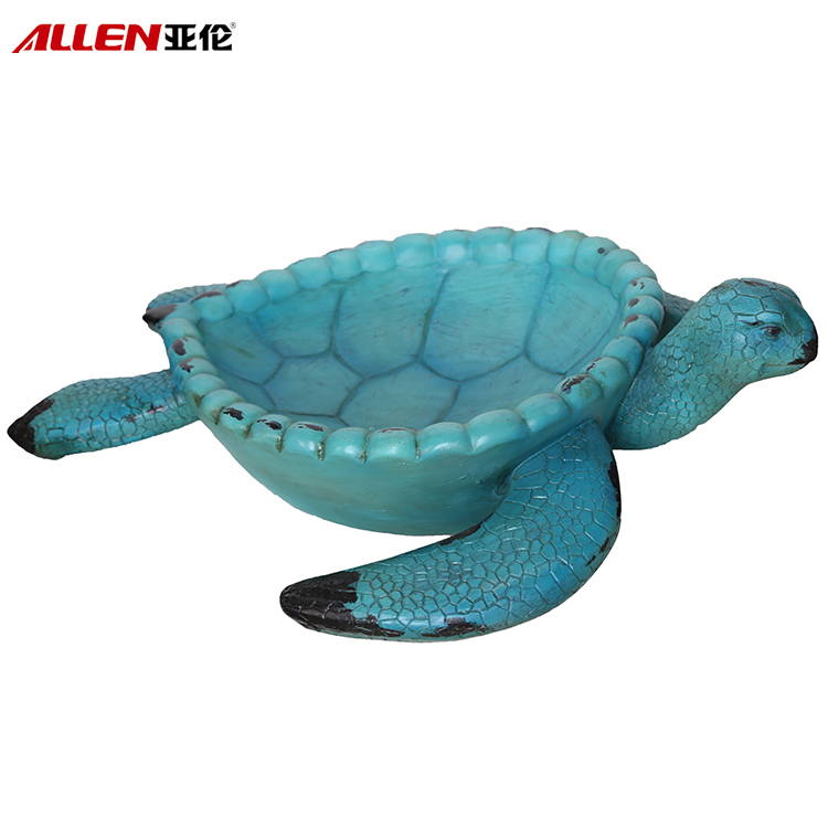 "Állati Design 18 ""L Gyanta Planter Pot Tortue"