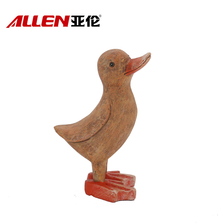Resin Tabletop Home Decor Duck Statue