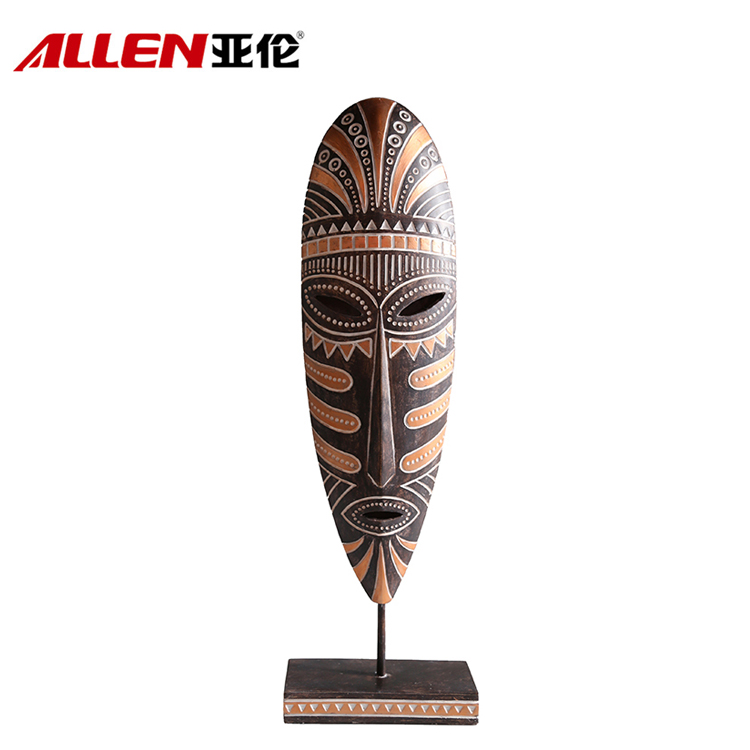 Africa Design Home Decoration Resin Facial Makeup With Base