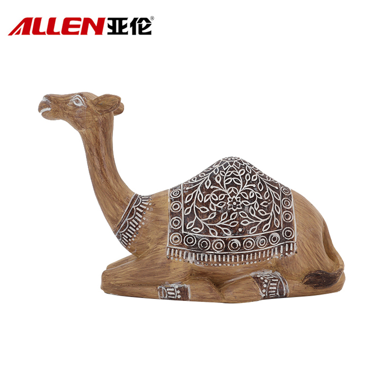 Resin Lying Camel Ornament For Home Decor