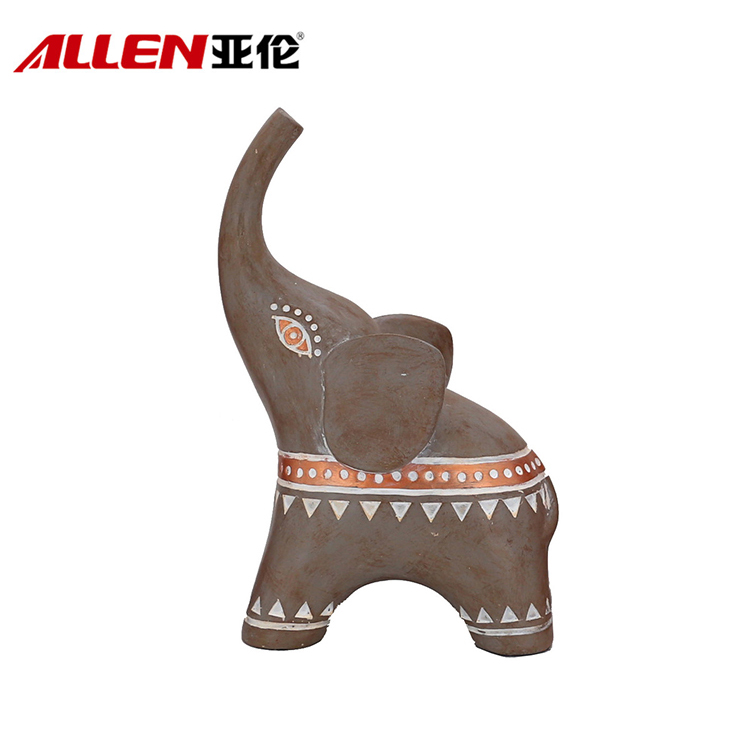 Home Decoration Ornament Resin Elephant Figurine