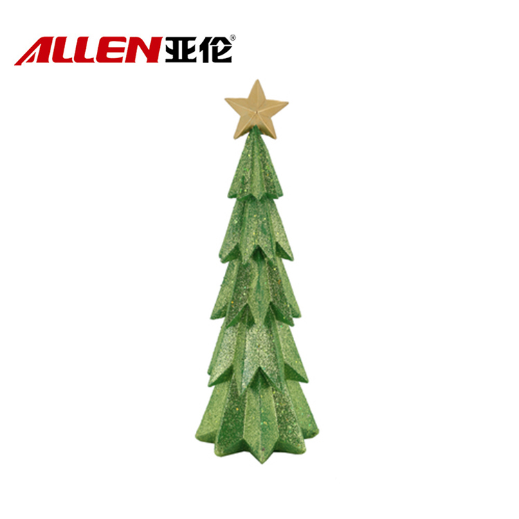 China resin christmas tree
