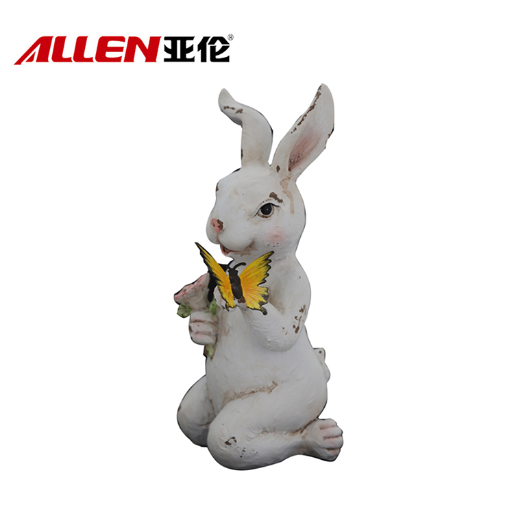 China resin easter bunnies