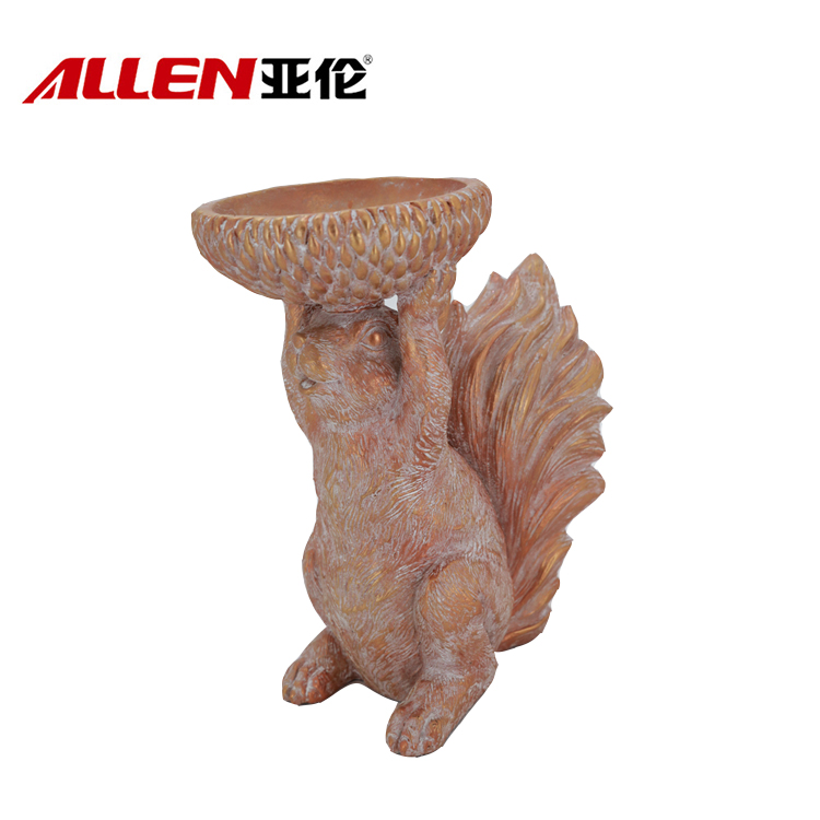 China resin candle holder