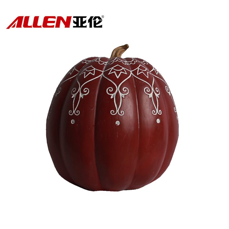 Manufacturer Polyresin Pumpkin Thanksgiving Decoration