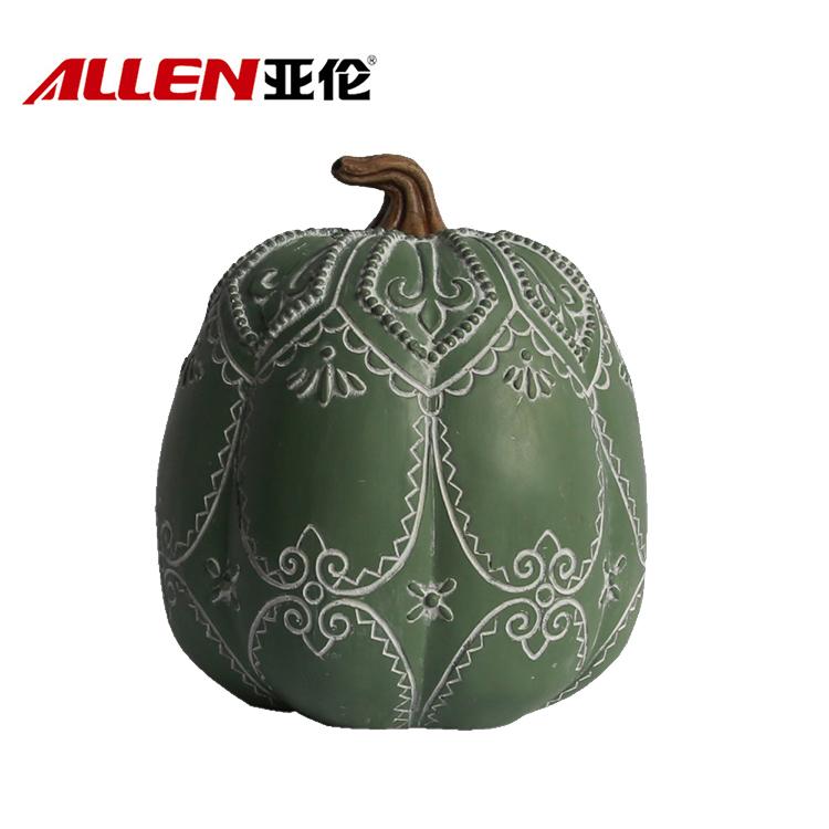 China handmade resin pumpkin