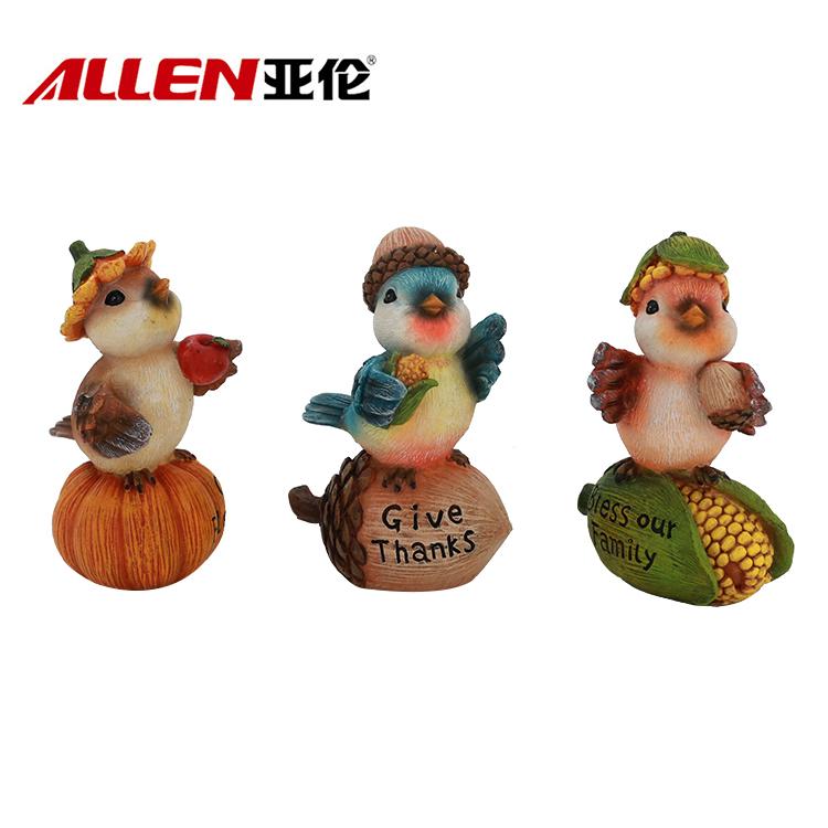 Polyresin bird figurine