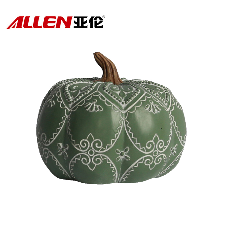Resin Thanksgiving Harvest Decoration Pumpkin