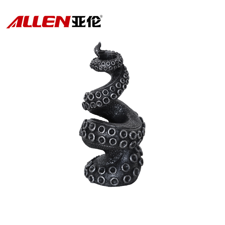 Resin Octopus Shape Halloween Candle Holder For Home Decor