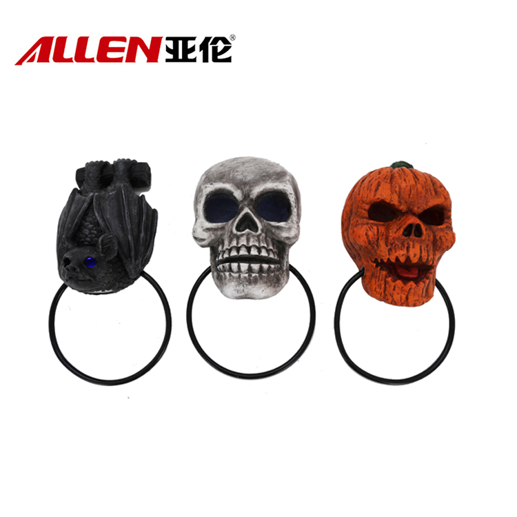 Halloween Style Home Decoration Polyresin Door Knocker