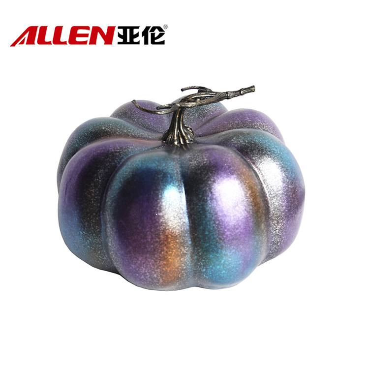 Outdoor resin pumpkins