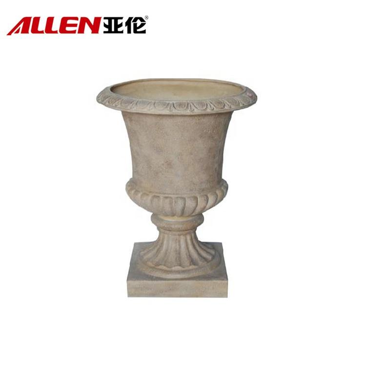 China fiberglass urn planters