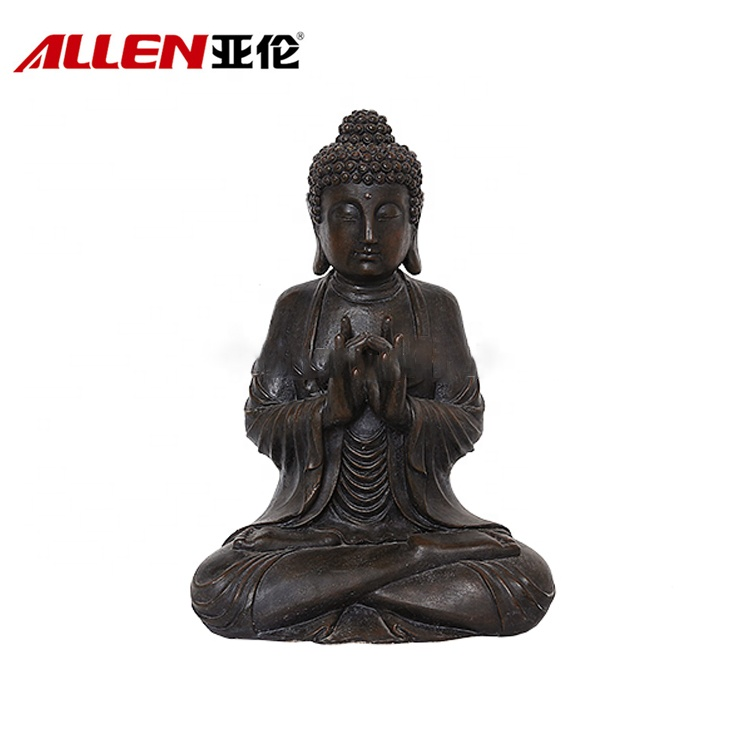 Religiösa Garden Decor Ornament Buddha Sculpture