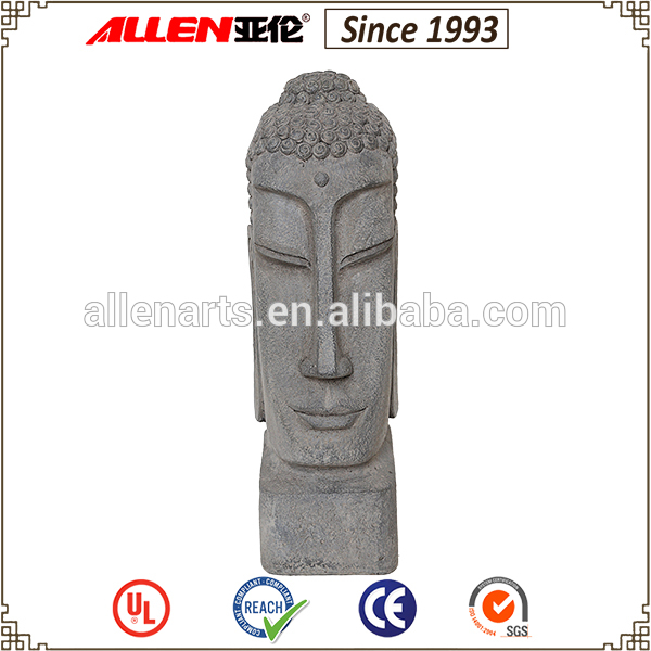 New Design Resin Big Head Buddha Ornaments For Garden Decoration
