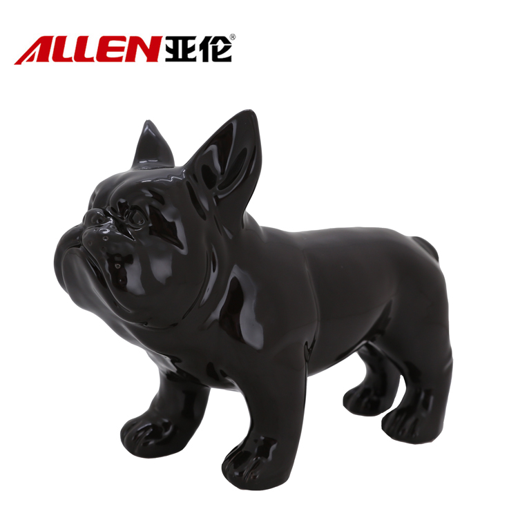 Ceramic Dog Fashion Home Decoration