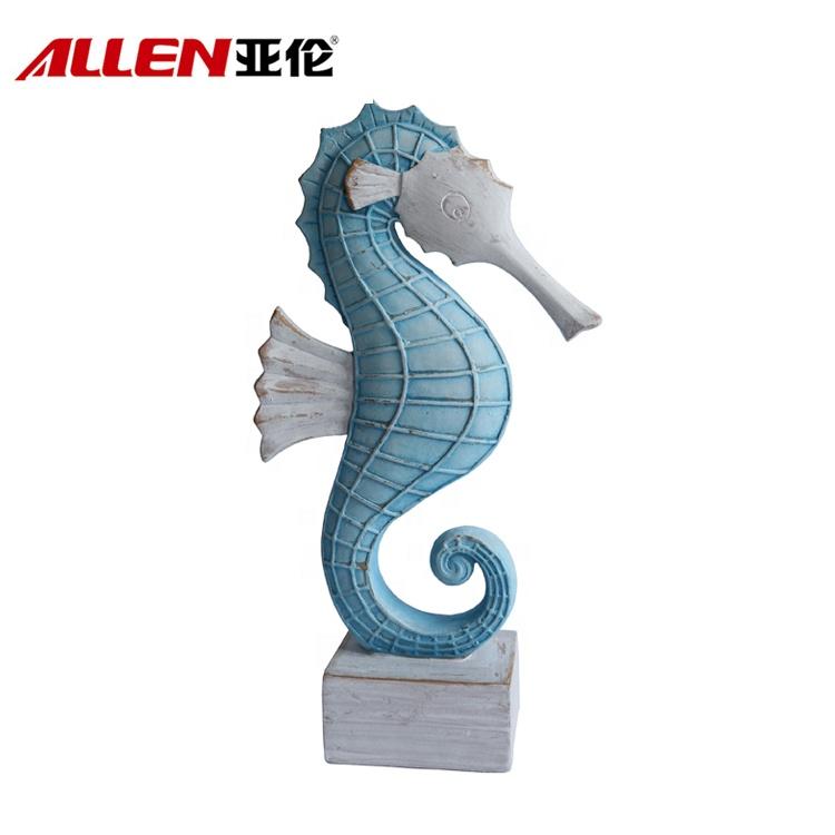 resin coastal seahorse