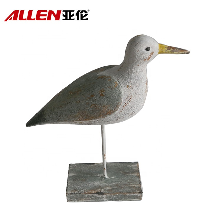 Resin Tabletop Home Decoration Seabird Figurine
