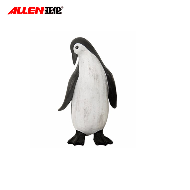 Beautiful Jolly Resin Indoor Penguin Decoration