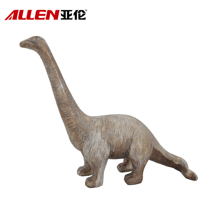Home Decor 12.6inch Lunghezza resina Dinosaur Scultura