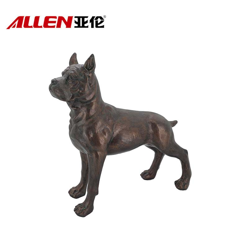 Handmade Resin French Bulldog Statue For Home Decor