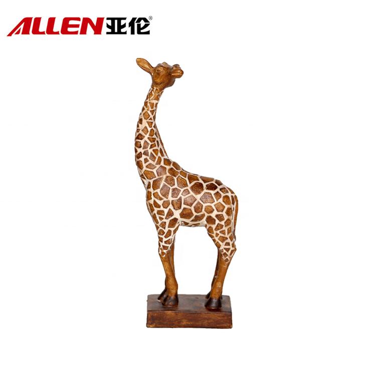 Kína gyanta zsiráf szobor