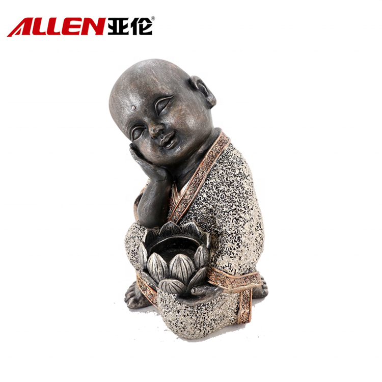 patung buddha polyresin
