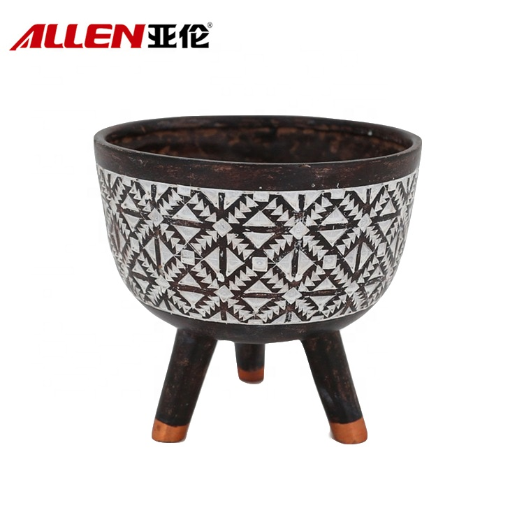 Afryka Styl Pattern Home Decoration stołowa Planter