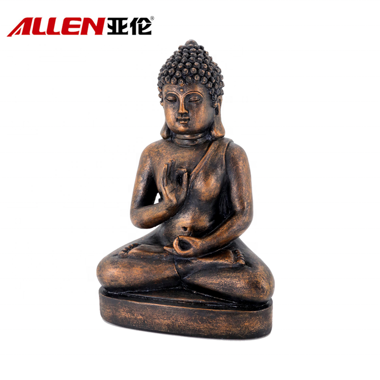 Reiligious Souvenir Home Decoration Resin Sitting Buddha Statues