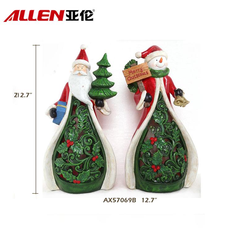 China resin snowman santa