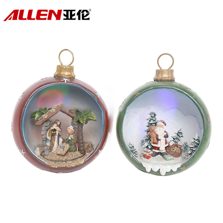 Handmade Christmas Hanging Decoration Ornaments And Led Christmas Ball