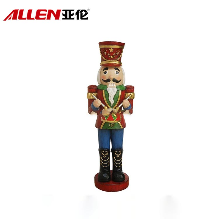 37inch Height Fiberglass Large Christmas Nutcracker Soldier