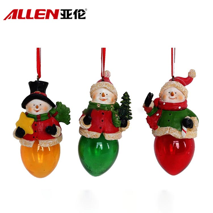 China resin christmas ornaments