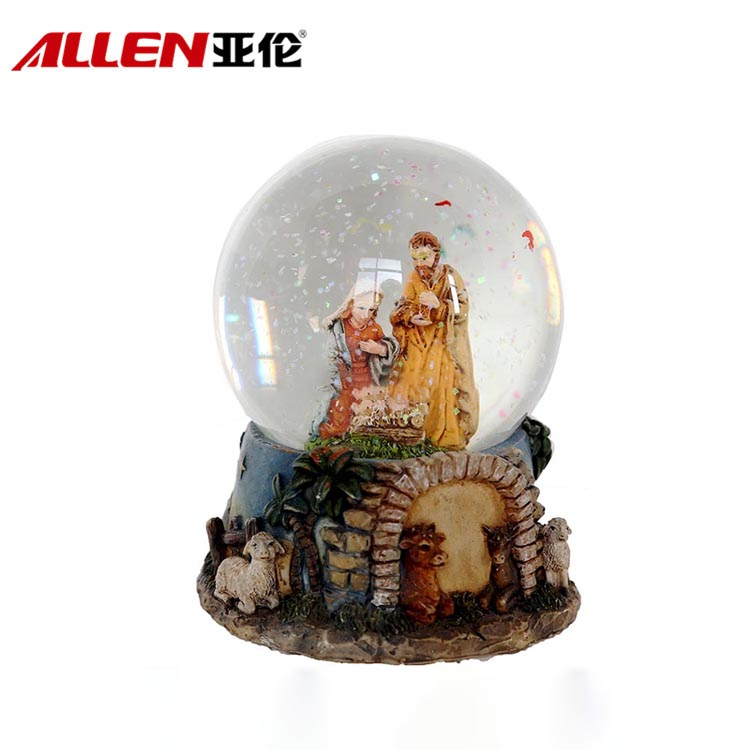 Christmas Nativity Scene Design Waterball