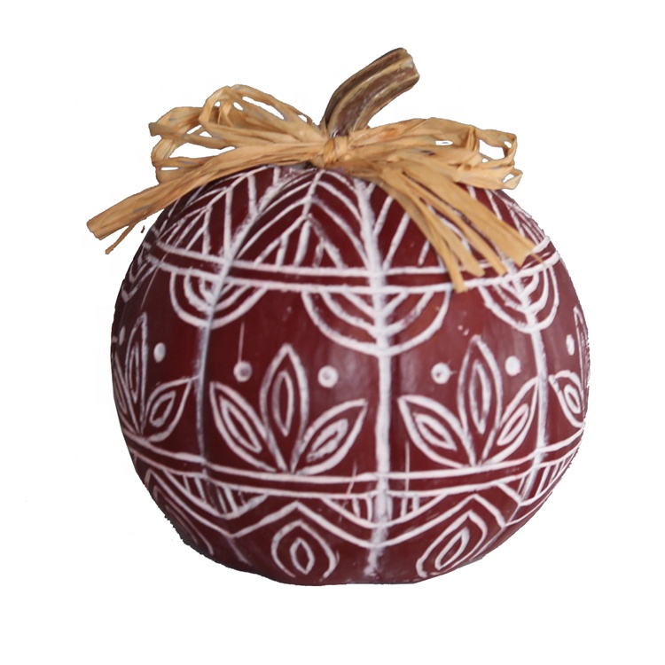 Thanksgiving Decorative Polyresin Pumpkin